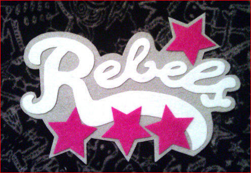 Rebels replica patch